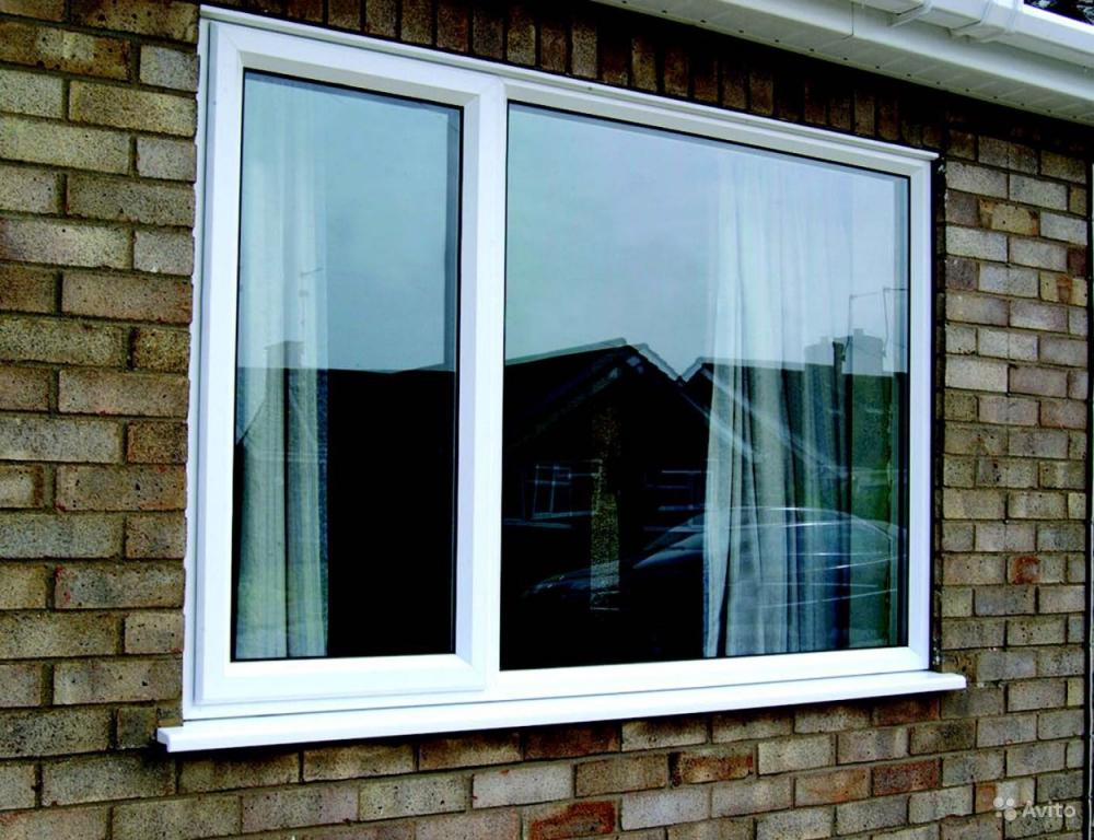 окно армированное
